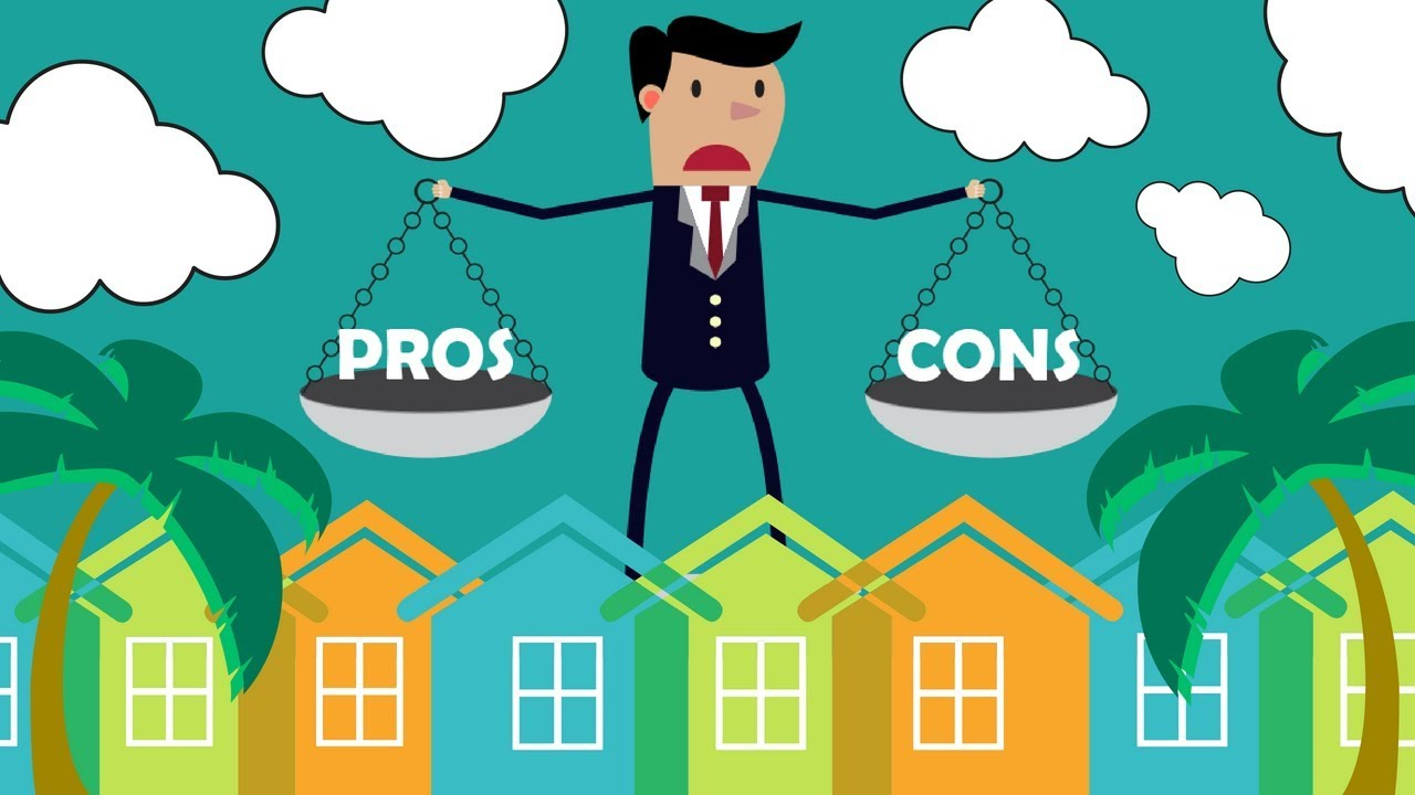 Pros And Cons of Real Estate