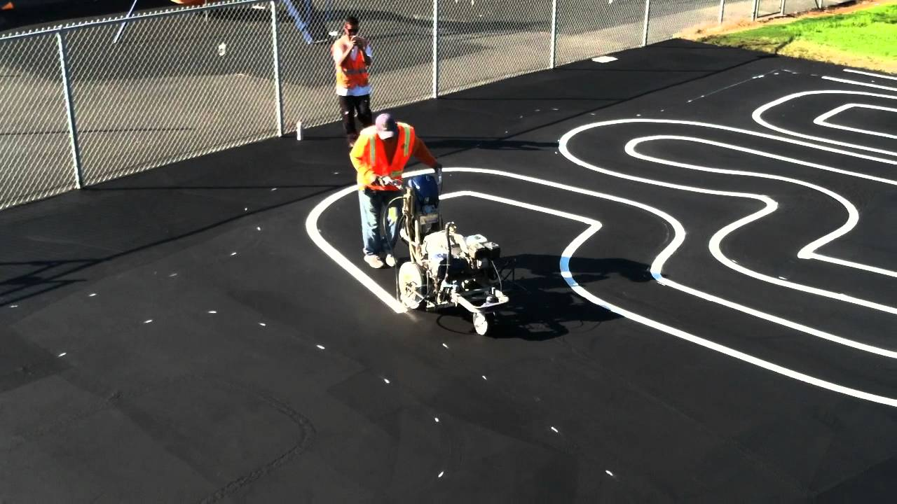 Maximize Efficiency With Line Striping