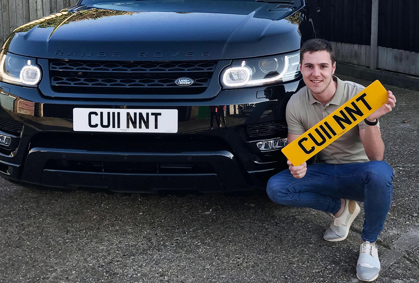 Giving Someone a Personalized Number Plate For Their Birthday